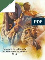 Escuela Teocrática 2014 Corregida