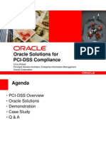 3.5 Oracle PCI DataSecurity