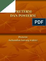 Preterm Dan Posterm