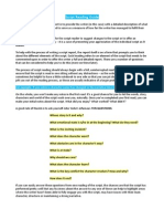 Script Reading Guide