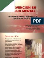 prevencion en salud mental