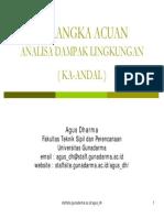 Sistematika KAANDAL & ANDAL (Presentation)