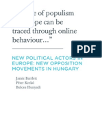 Bartlett, J.; Kreko, P. & Hunyadi, B. (2013).. New political actors in Europe