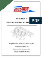 Manual Instrucciones Agromak 5F-7(2)