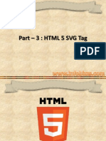 Part 3 - HTML 5 Svg Tag