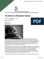 Myth Moderate Obama