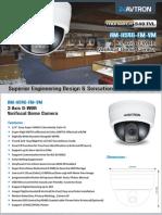 Avtron Vari focal dome camera AM-H546-FM-VM