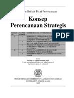 Konsep Perencanaan Strategis