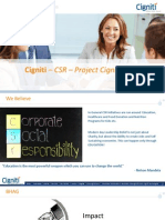 Cigniti Corporate Social Responsibility