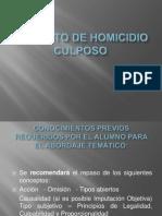 167944710.El Delito de Homicidio Culposo