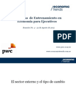 Economía para Ejecutivos M2 - Reunión 4
