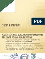 topic 4 genetics