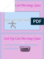 get up get moving quiz numan