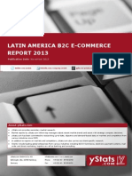 2df6eaaadc59 Brochure   Order Form Latin America B2C E-Commerce Report 2013 by yStats
