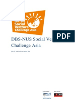 DBS-NUS Social Venture Challenge Asia
