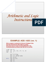 Arithmetic and Logic Instructions