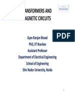 Transformers and Magnetic Circuits