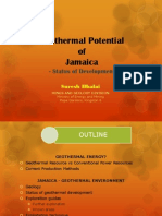 Geothermal Energy Potential of Jamaica, w/o.D.