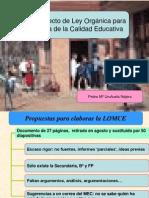 1.- Anteproyecto LOMCE_resumen