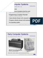 Early Computer Systems