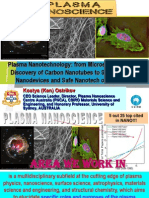 Plasma Nanotechnology