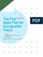 2008-2012 ROK First Immigration Plan