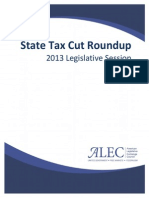 2013 State Tax Cut Roundup