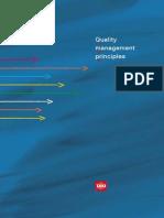 Quality Management Principles 2012