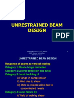 Unrestrained Beam