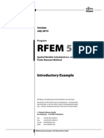 RFEM Introductory Example