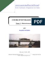 COURS D'OUVRAGES D'ART