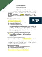 CUESTIONARIO DE BIOLOGÍA Y QUÍMICA