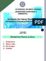 Aula 2 - Parâmetros Físicos e Físico-Químicos