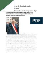 El 2do gobierno de Belaúnde en la economia peruana