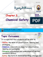 5. Chapter 3 Chemical Safety