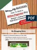 Blogging Module 1 Slides