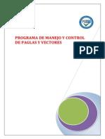 Programa de Control de Plagas y Vectores Acutalizado 2012a
