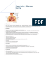 Askep Adult Respiratory Distress Syndrome