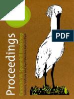 VII Spoonbill Workshop Proceedings 2013