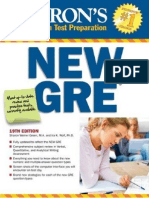 Barron's GRE 19th Edition