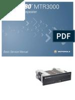 MTR3000 Basic Service Manual 68007024096 D