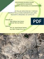ANÁLISIS DE FALLAS GEOLÓGICAS Y RIESGO SÍSMICO