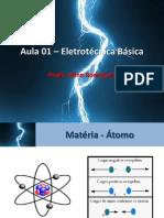 Aula 01 – Eletrotécnica Básica