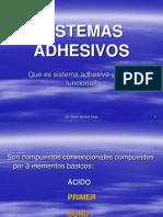 15va Clase Sistemas Adhesivos