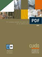 El Sistema estatal de atecnión sociosanitaria en el ámbito de la dependencia 2009