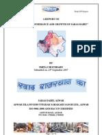 Saras Final SIP Report ICFAI