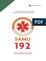 Apostila - Samu - Santa Catarina