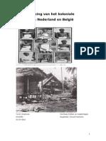 Verwerking van het koloniale verleden - Congo en Oost-Indië