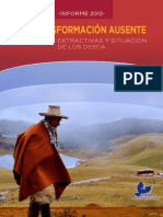 Informe DESC 2012