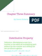 chapter 3 summary